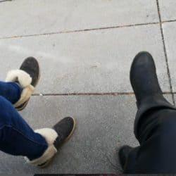 Verena und ich