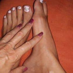 Fuß Anbetung Herrin Füße